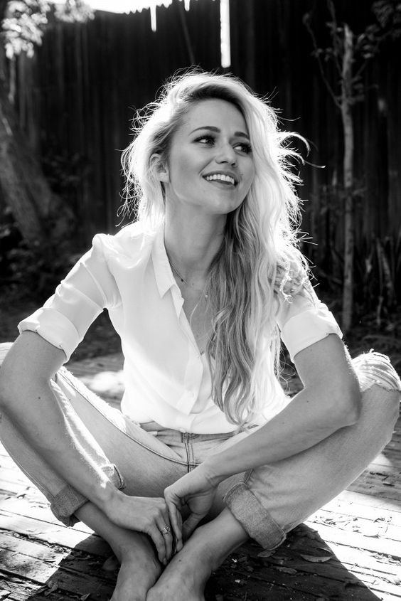 Actress Johanna Braddy photographed by Collin Stark: