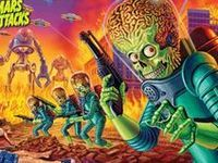 Joe Jusko Art Wallpaper | Mars Attacks! on Pinterest | Mars, Trading Cards and…