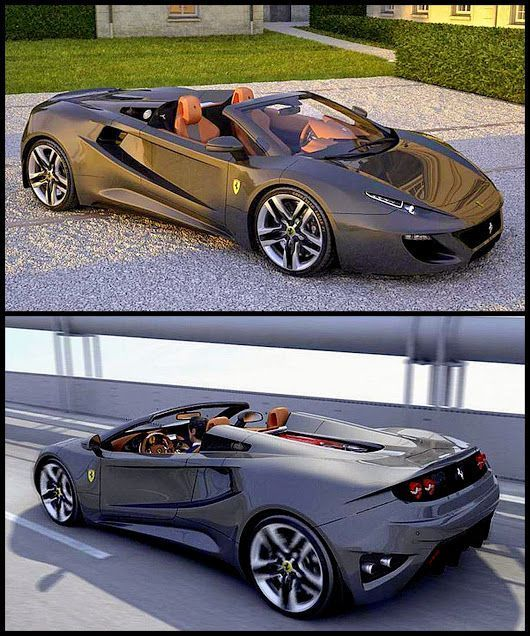 AWESOME ''2017 Ferrari FT12 Spider concept '' Future 2017 Cars Design Concepts & Photos: