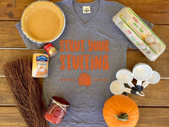 STRUT YOUR STUFFING!! OMG is there really a more perfect shirt for Thanksgiving? We are running low on these shirts - order yours now in time for your Thanksgiving get together! Now available for immediate shipping! WWW.ATXMAFIA.COM