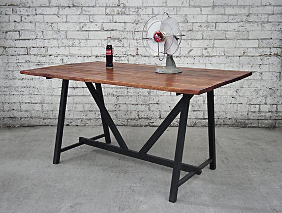 Charming Industrial Style Furniture Melbourne | Retro Dining Table Online