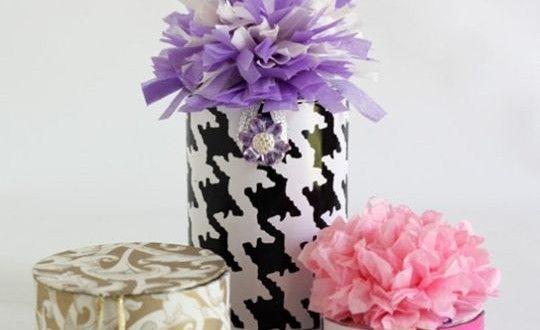 Caixinha de Presente de Carretel de Fita Passo a Passo | Reciclagem no Meio Ambiente – O seu portal de artesanato com material reciclado