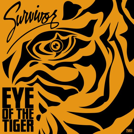 Survivor – Eye of the Tiger (single cover art)