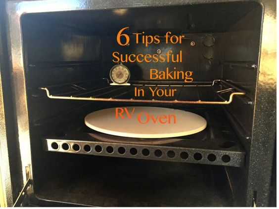 How to successfully use the oven in your RV