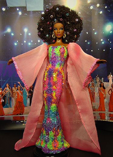OOAK Barbie NiniMomo's Miss South Africa 2008: