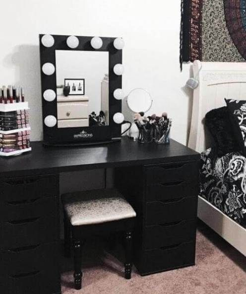 20 Vanity Mirror With Lights Ideas Diy Or Buy For Amour Makeup Room Stylish Bedroom Beauty Room Makeup Room Decor