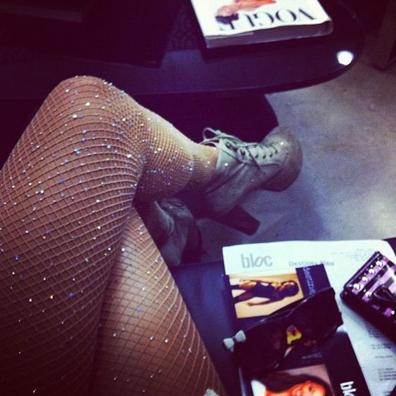 Sparkly fishnet tights LOVE!! for my birthday outfit!? I think so!! @Marissa Franco-Duenez