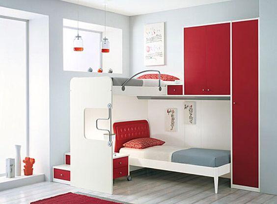 lit estrade ide de rangement petits espaces chambre - Lit Estrade Chambre Studio