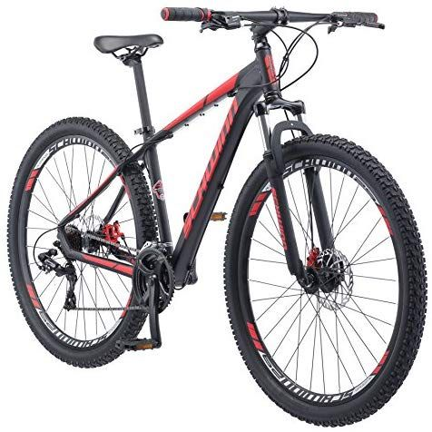 Schwinn Bonafide Mountain Bike With Front Suspension Featuring 17