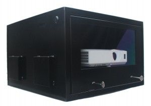 cost effective outdoor projector enclosure