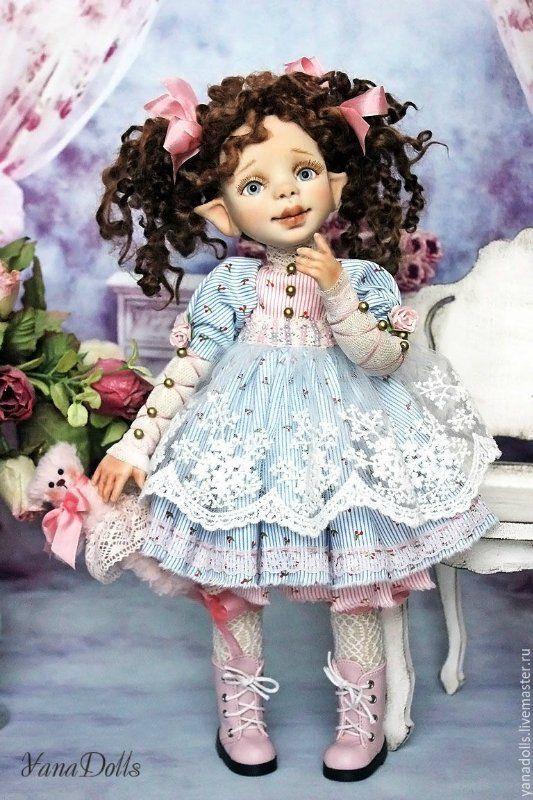 Лиза. Автор Яна Тараненко / Изготовление авторских кукол своими руками, ООАК / Бэйбики. Куклы фото. Одежда для кукол