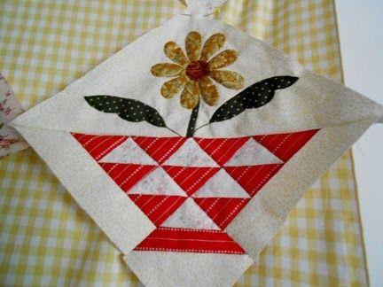"""Supergoof Quilts: """"En,... Bloemen-Meisjes"""""""