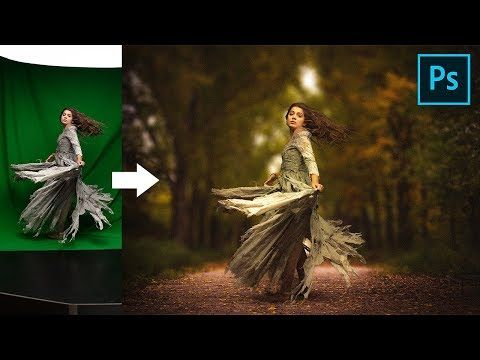 The Complete Easy Step By Step Process To Create A Composite Or Change The Back Surreal Photoshop Tutorial Green Screen Photography Photoshop Painting Tutorial