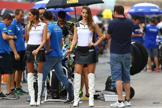 Las chicas del Mundial de SBK en Portimao 2015 | Motociclismo.es
