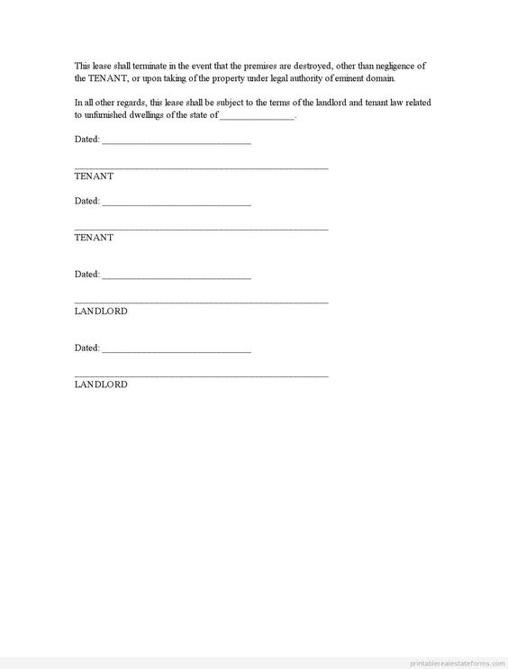 Printable Sample change by agreement Form Generic Forms Template - free printable rental agreement template