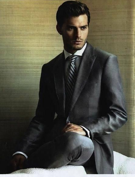 A look that could kill. Jamie Dornan modeling prior to his days on the movie set. | Fifty Shades of Grey | In Theaters Valentine's Day