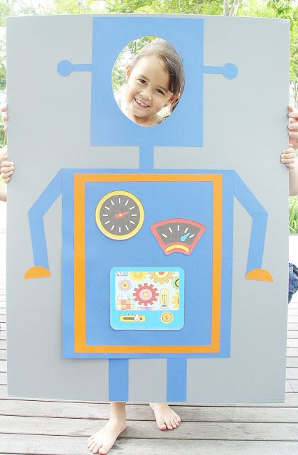 Etincelle Creative STUDIO: A Fantastic Robot Birthday Party {Part II}