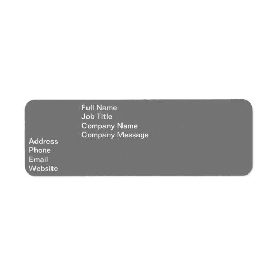 Return Address Label Zazzle Com Address Labels Return Address Labels Custom Holiday Card