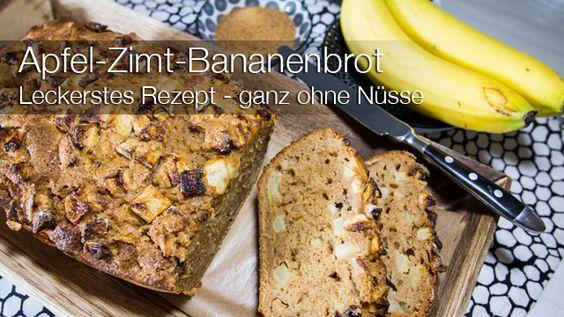 Das Apfel-Zimt-Bananenbrot ist das wohl leckerste und meistgebackenste Bananenbrot in unserem Haushalt. Lange habe ich nach DEM BANANENBROT REZEPT gesucht!