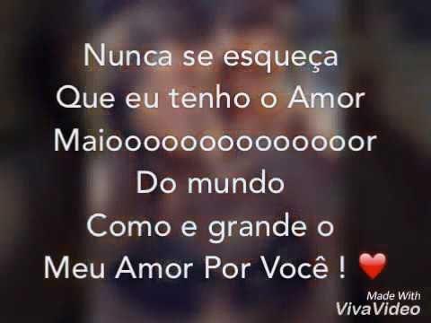 Te Amo Mais Que Tudo Marcelo Carvalho Youtube Com Imagens