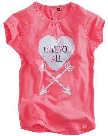 Z8 Cleo t-shirt korte mouw online kopen | Humpy kinderkleding