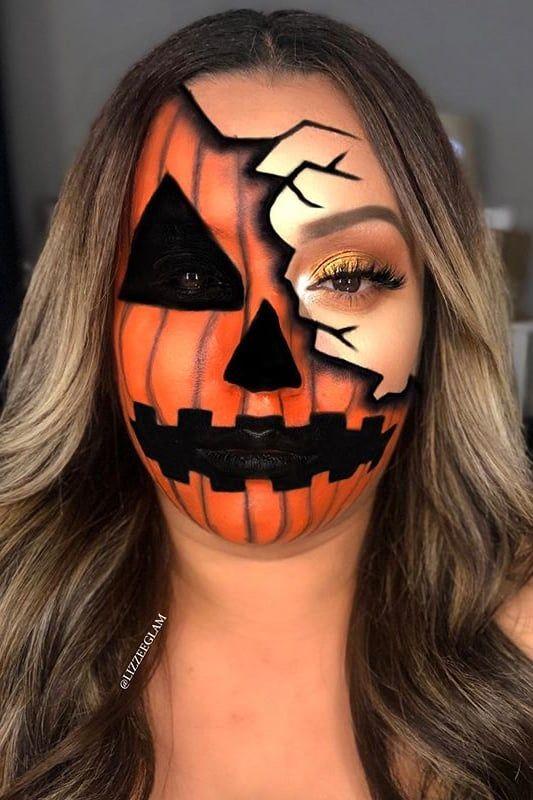13 Halloween Makeup Ideas That Somehow Look Even Better With a Face Mask | Halloween  makeup, Halloween makeup looks, Holloween makeup