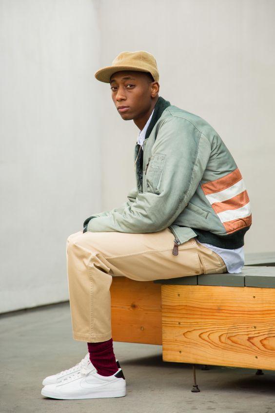 Pastell Männermode zu adidas Original Superstar Sneaker.
