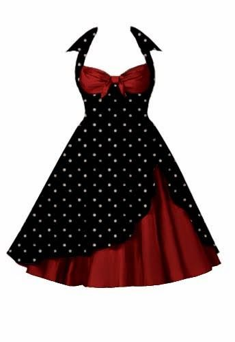 size 6 50s style dress plus
