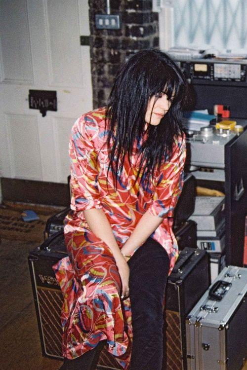 Alison in a kimono