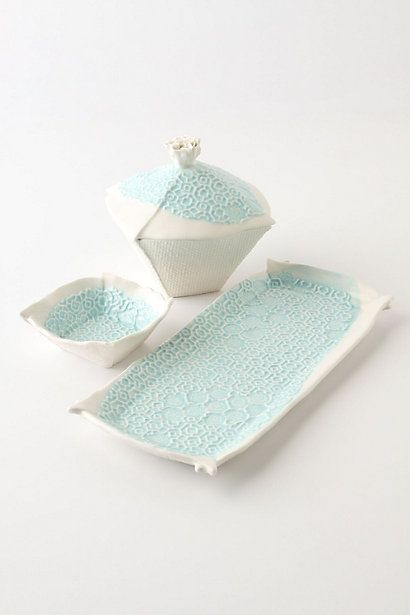 I love these pieces!  #anthropologie