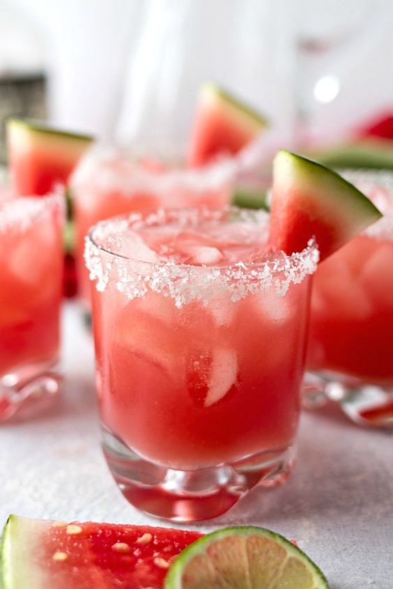 Pre Workout Drink Watermelon Juice