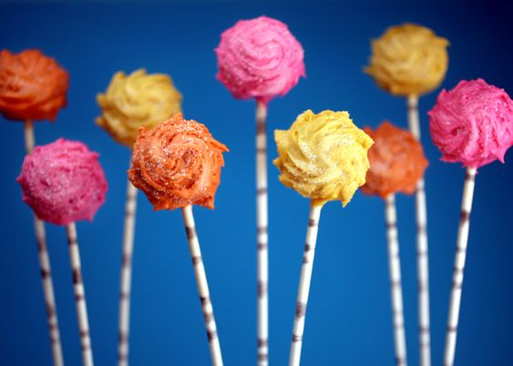 GOT to make some of these. I'm obsessed with these Truffulla Trees from the Lorax. We saw the movie today. cute!