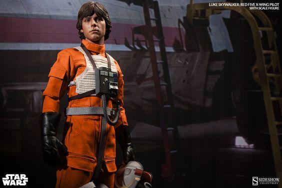 Luke Skywalker: Red Five X-wing Pilot Sixth Scale Figure