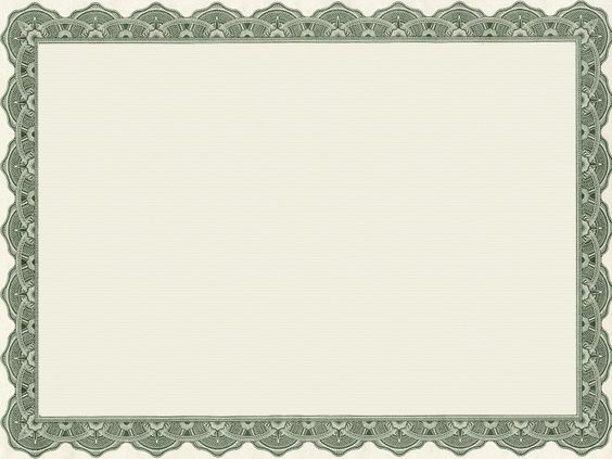 blank certificate border template - Google Search Project - blank certificate template