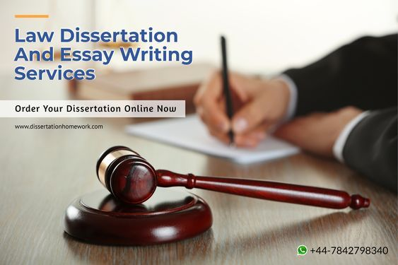 Law Dissertation Service Writing Services Course