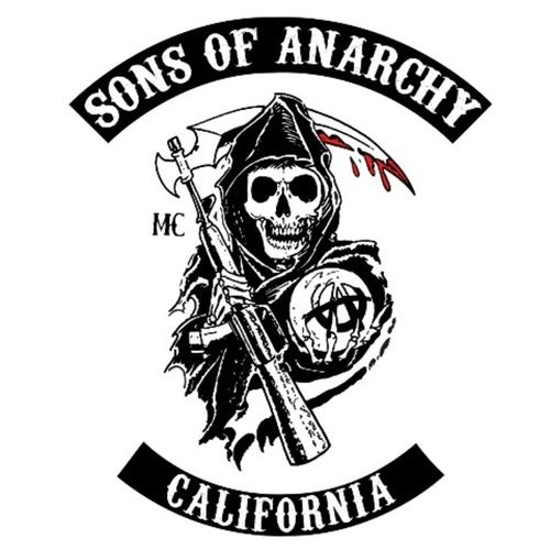 soa logo sons of anarchy fx pinterest logos