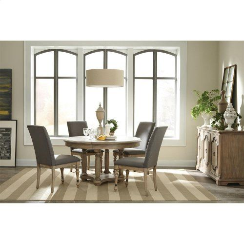 21556 In By Riverside In Evansville In Corinne Server Sun Drenched Acacia Finish Riverside Furniture Casual Dining Rooms Dining Table