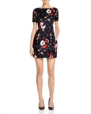 FRENCH CONNECTION Gardini Floral Print Dress | Bloomingdale's