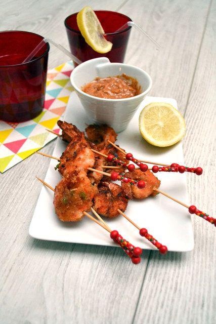 Crevettes panées piquantes - Envie d'apéro