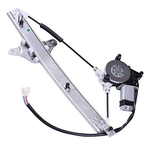 cciyu Power Window Regulator Replacement fit for 2000-2006 BMW X5 Front Right Passengers Side NO Motor Assembly