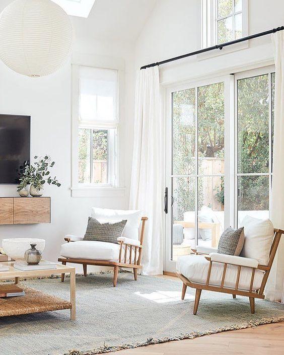 Chic And Stylish Living Room Ideas I Love Jane At Home In 2020 Home Living Room Home Remodeling Living Room White #stylish #living #room #furniture