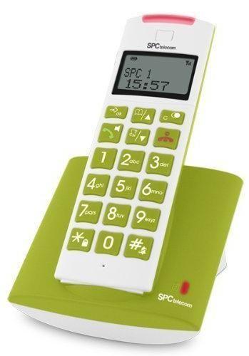 Teléfono inalámbrico SPC 7606 VERDE - Urgenti