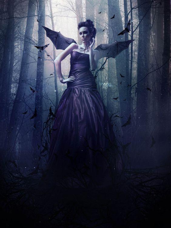 The Secret - Photoshop - ©2013 - Kryseis-Retouche   Crédits :  Modèle : http://fr.depositphotos.com/17602245/stock-photo-Beautiful-woman-in-vi...
