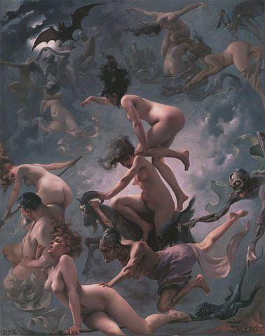 Luis Ricardo Falero, Witches Going to their Sabbath.
