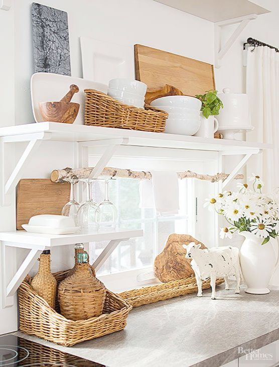 Country Cottage Magazine Country Cottage Chic Bedroom Cottage Style Kitchen Kitchen Styling Cottage Kitchens