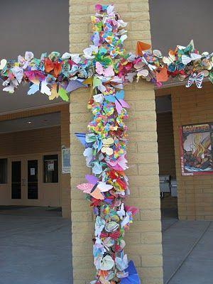 Art Incarnate: Easter Transformation------------butterflying the cross