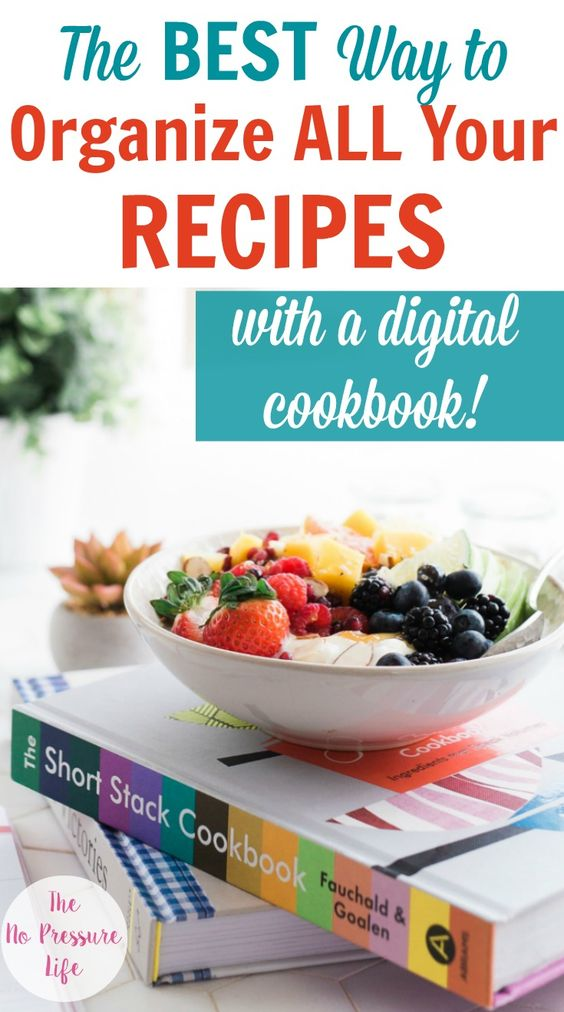 The Best Way To Organize All Your Recipes Digital Recipe Organization Recipes Recipe Organization