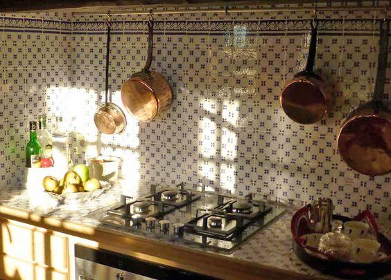 Epingle Sur Faience Ponchon Cuisine Traditionnelle Carrelage Retro