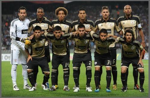 2º Jogo Oficial, 2º onze na Turquia contra o Trabzonspor