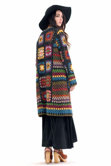 Margaret Crochet Maxi Festival Cardigan S-panish Moss (468x700, 148Kb)